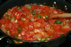 Spicy Fresh Tomato Sauce