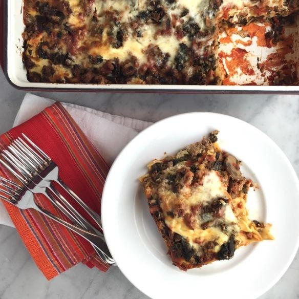 Terrific Low Fat Lasagna Thebrookcook