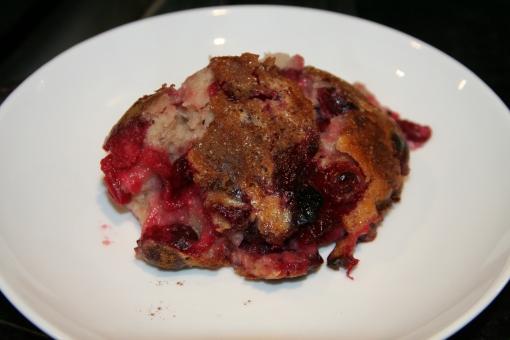 Cranberry Clafouti 2