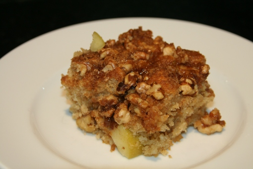 apple streusel coffee cake 2