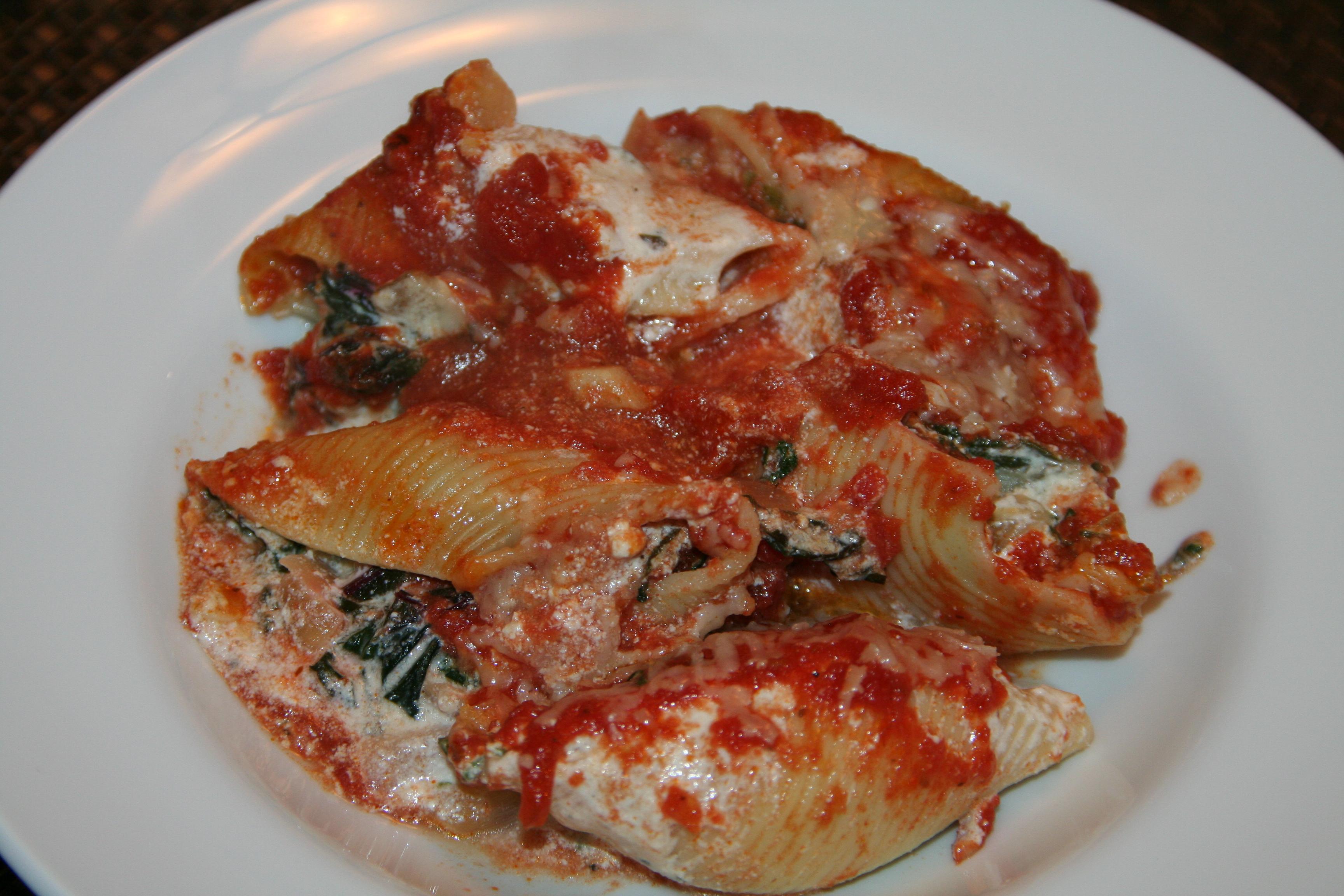 shells swiss chard stuffed shells and chard stuffed shells swiss chard ...