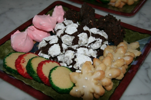 Christmas Cookie Plate 2012
