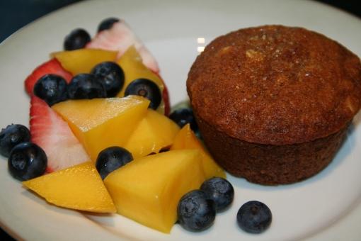 White House Honey-Oatmeal Muffins