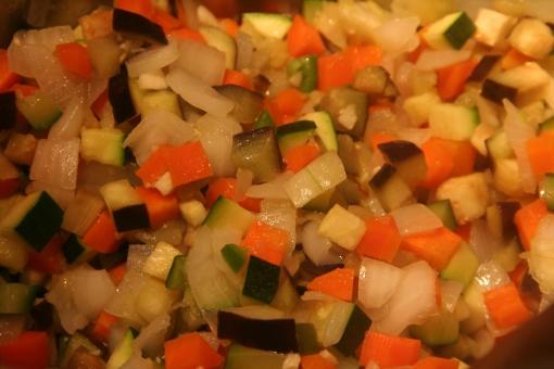 Spicy Lentil Chili Veggies