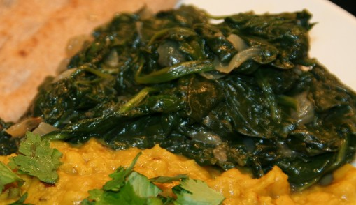 Spinach with Onions