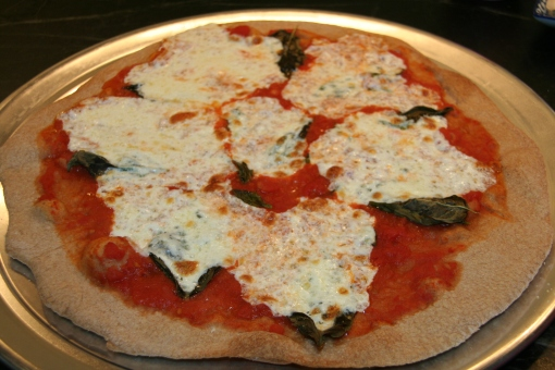 margherita pizza food & wine