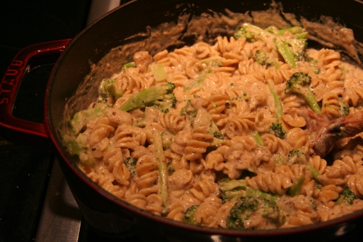 lighter mac and cheese