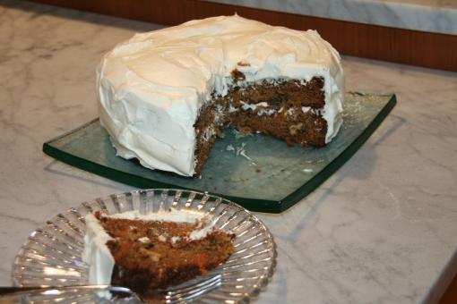 carrot cake macrina