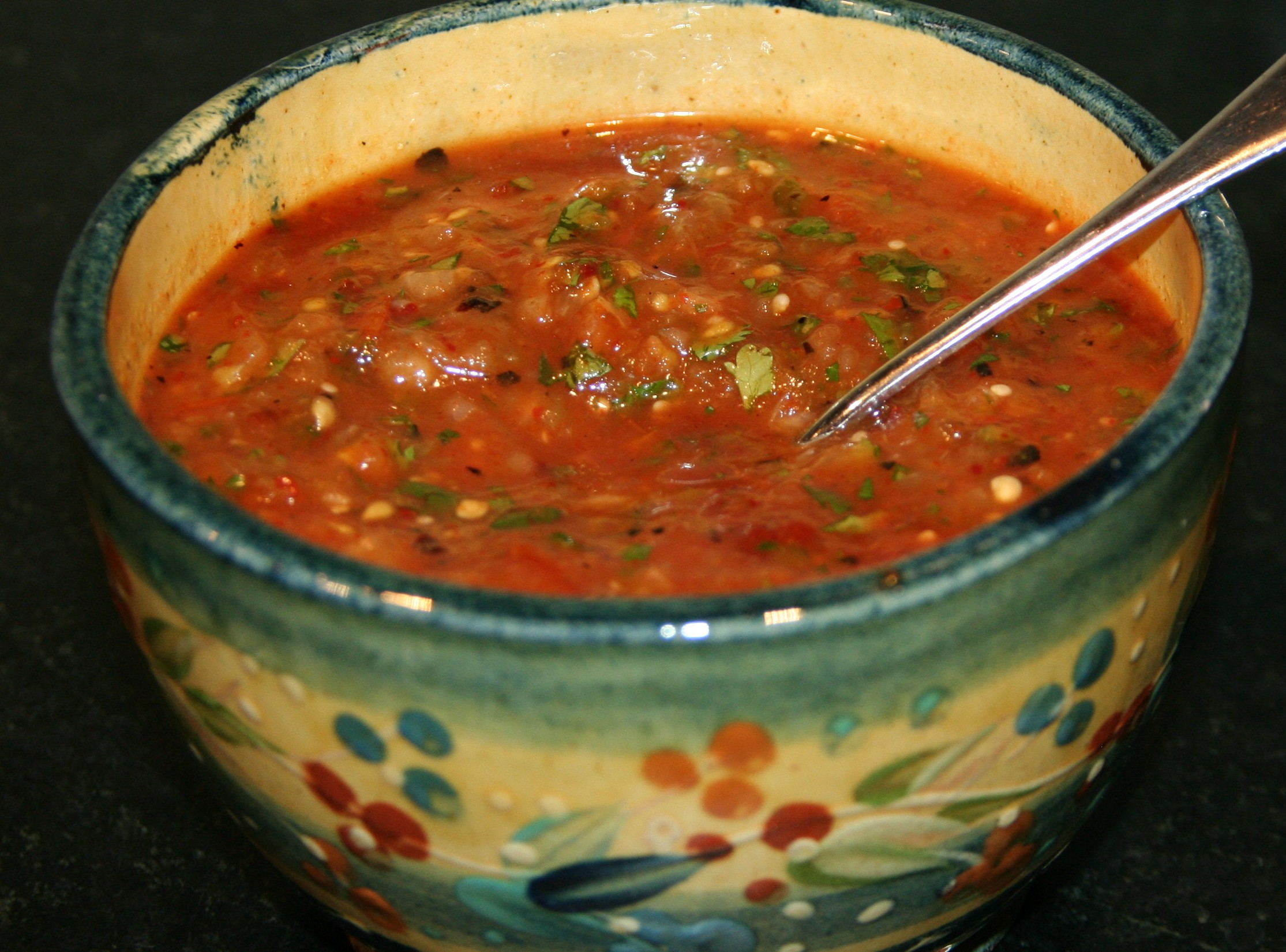Smoky Chipotle Salsa With Pan-Roasted Tomatillos Recipe — Dishmaps