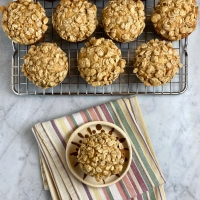 Low-Fat Crumb Cake Muffins