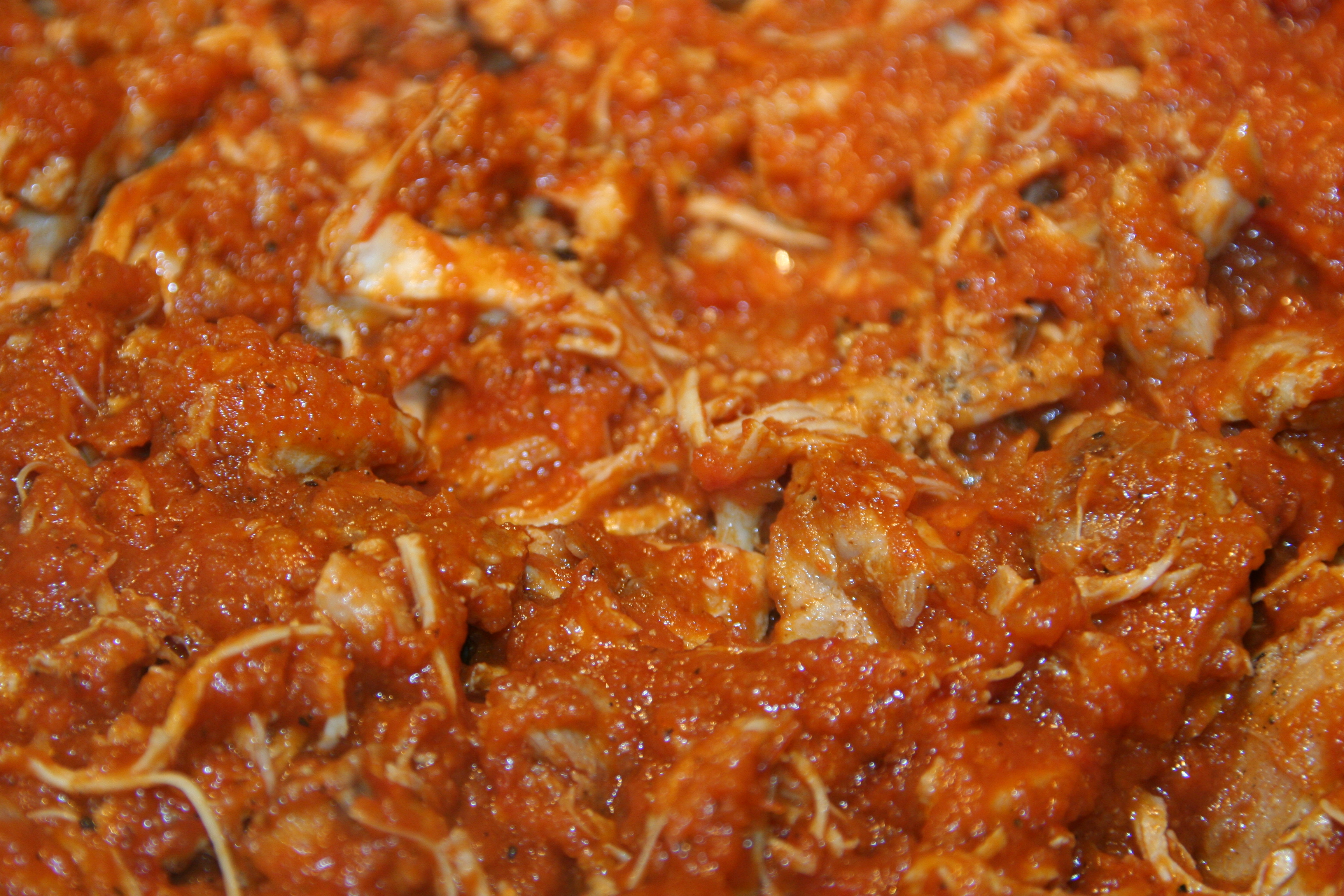tinga chicken a special dish
