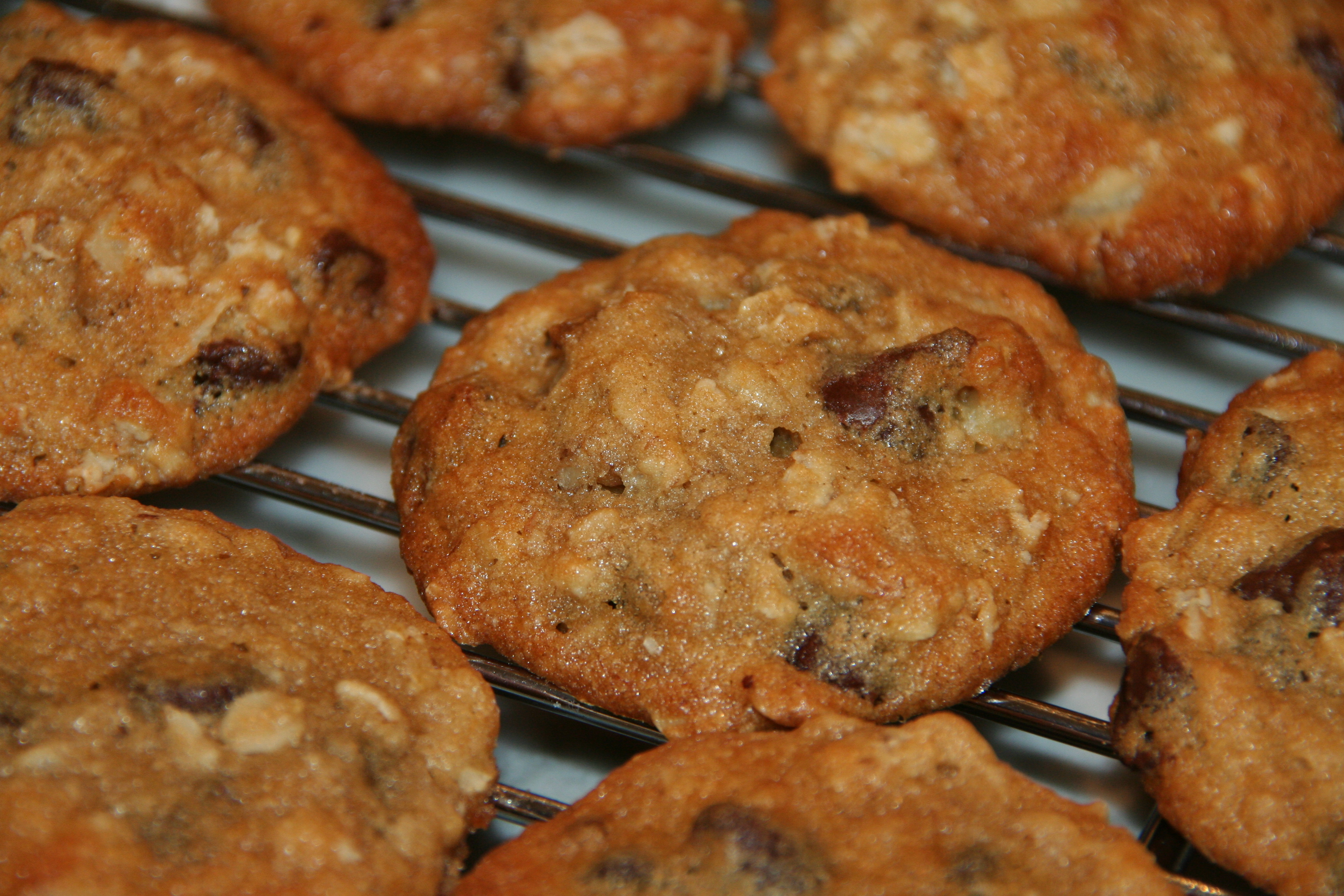 Banana-Walnut Chocolate Chip Cookies | thebrookcook