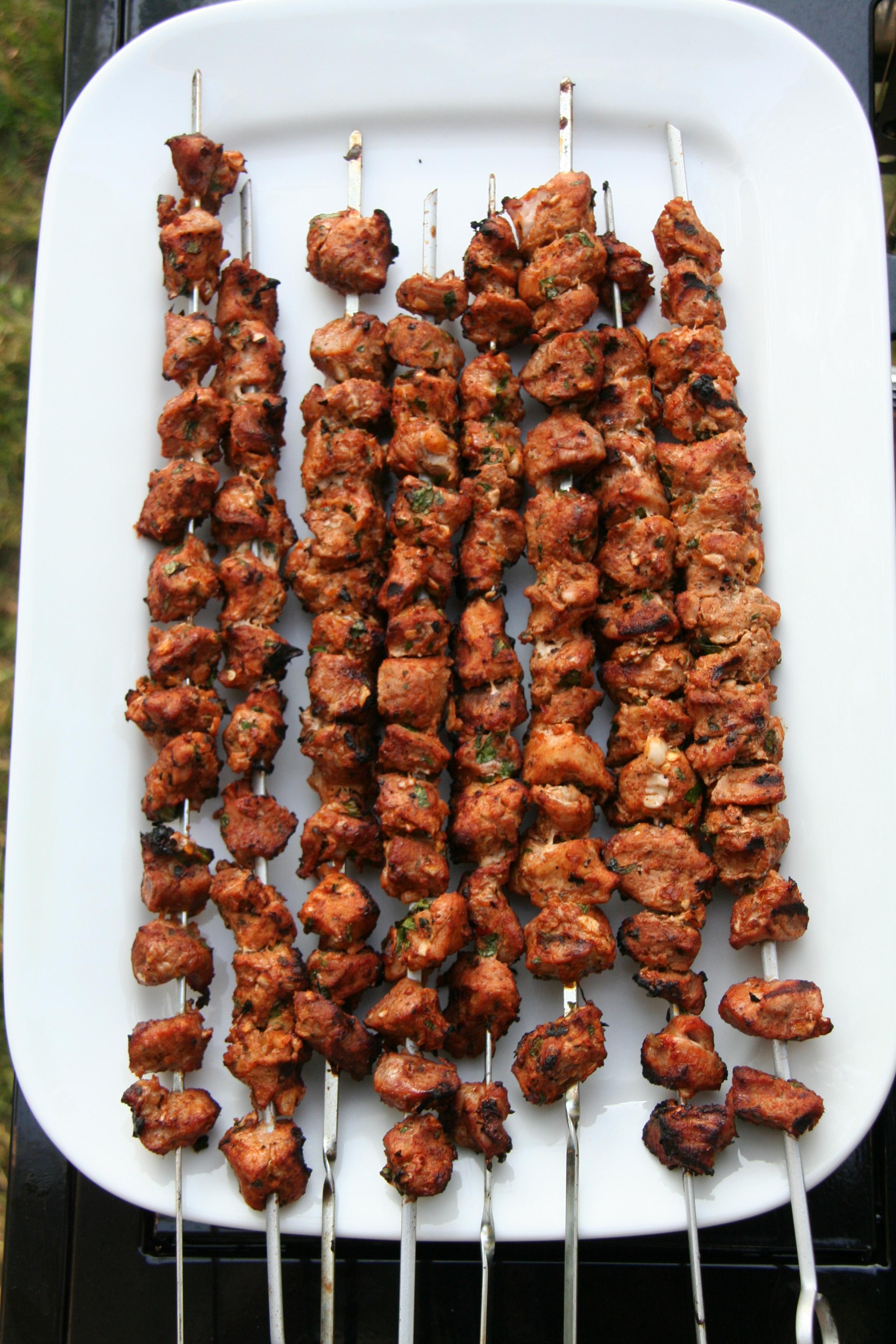 pictures Moorish Pork Skewers Recipe