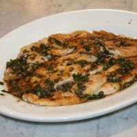 Poisson Meuniere or Fish with Lemon & Browned Butter Sauce