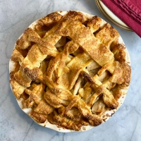Brown-Butter & Vanilla Bean Apple Pie