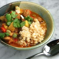 Slow-Cooker Thai Red Curry with Chicken
