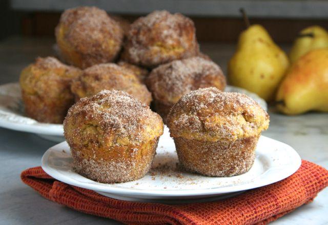Pumpkin Doughnut Muffins   thebrookcook