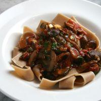 Fresh & Wild Mushroom Stew