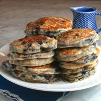 Mad Hungry Blueberry Buttermilk Pancakes