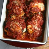 Chicken Parmesan with Chicken Thighs