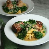 Pork & Ricotta Meatballs in Parmesan Broth