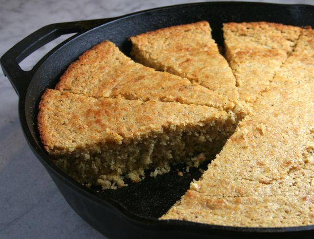 Brown Butter Skillet Cornbread | thebrookcook