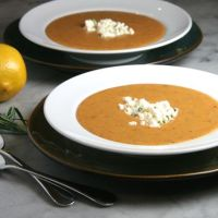 Greek Red Lentil Soup