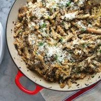 Gemelli with Mushrooms & Ricotta