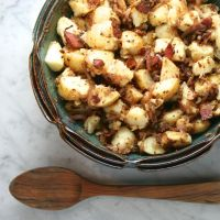 German-Style Bacon & Shallot Potato Salad