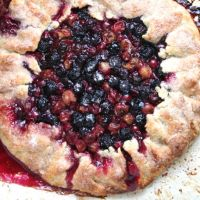 Gooseberry & Blueberry Galette