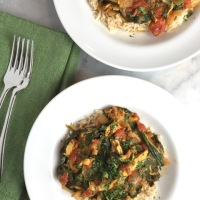 Turkey & Spinach Curry