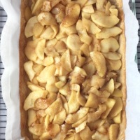 Ina Garten's Apple Pie Bars with Browned Butter Glaze