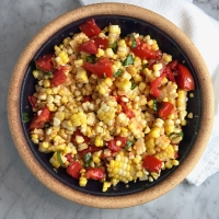 Grill-Roasted Corn & Tomato Melange