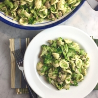Broccoli Bolognese with Orecchiette