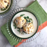 Irish Soda Scones with Orange Glaze