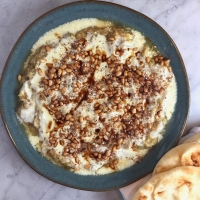 "Ottolenghi's Zucchini ""Baba Ghanoush"""