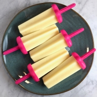 Vanilla Pudding Pops