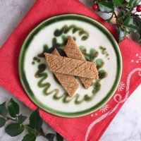 Swedish Spice Cookies (Muskotsnittar)