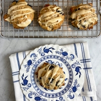 Maple-Blueberry Scones