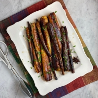 Slow-Roasted Carrots with Browned-Butter Vinaigrette