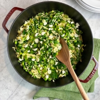 One-Pan Orzo with Spinach & Feta